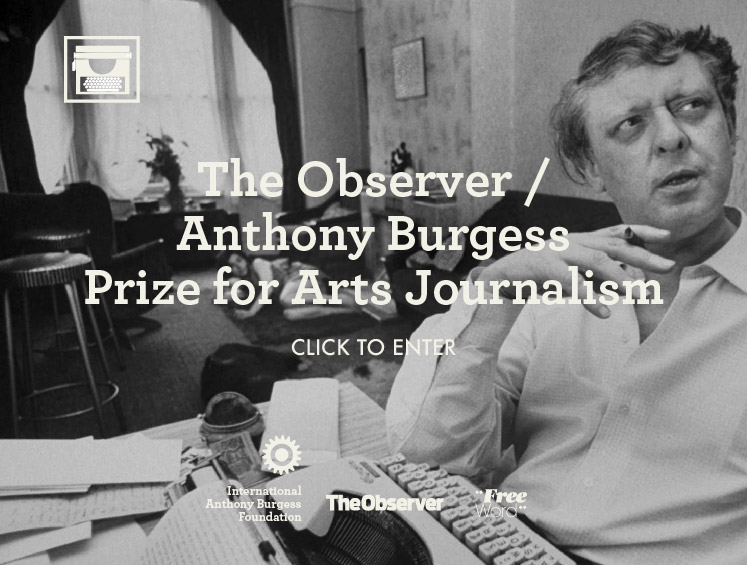 First Prize: £3000 and publication in The Observer