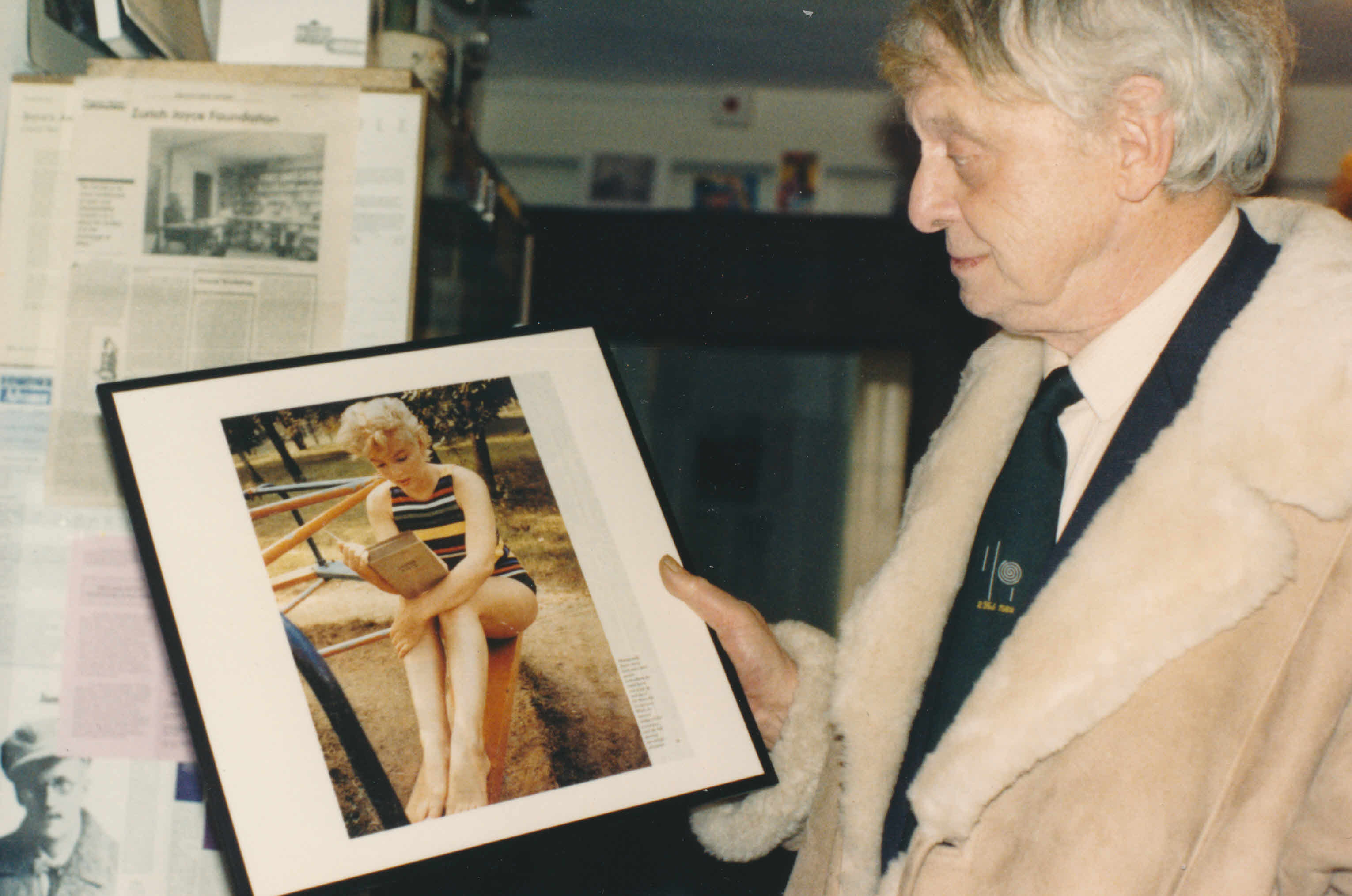 marilyn monroe james joyce and anthony burgess the joyce s