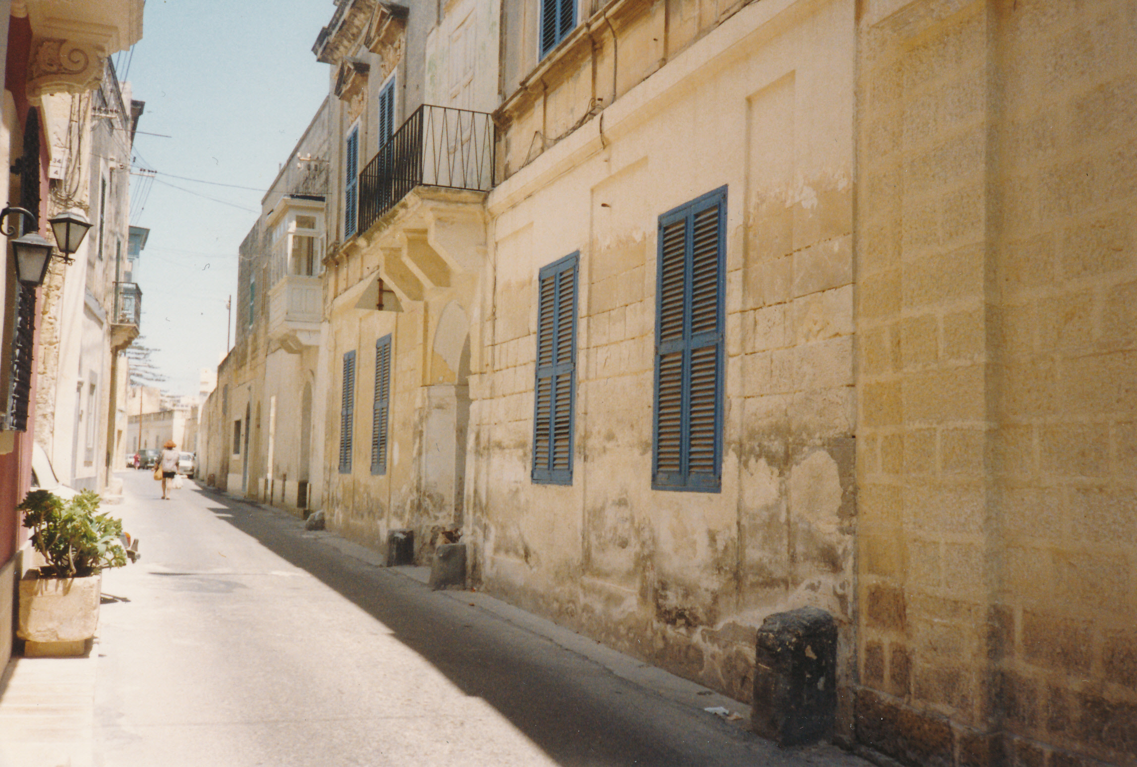 Burgess's house in Malta