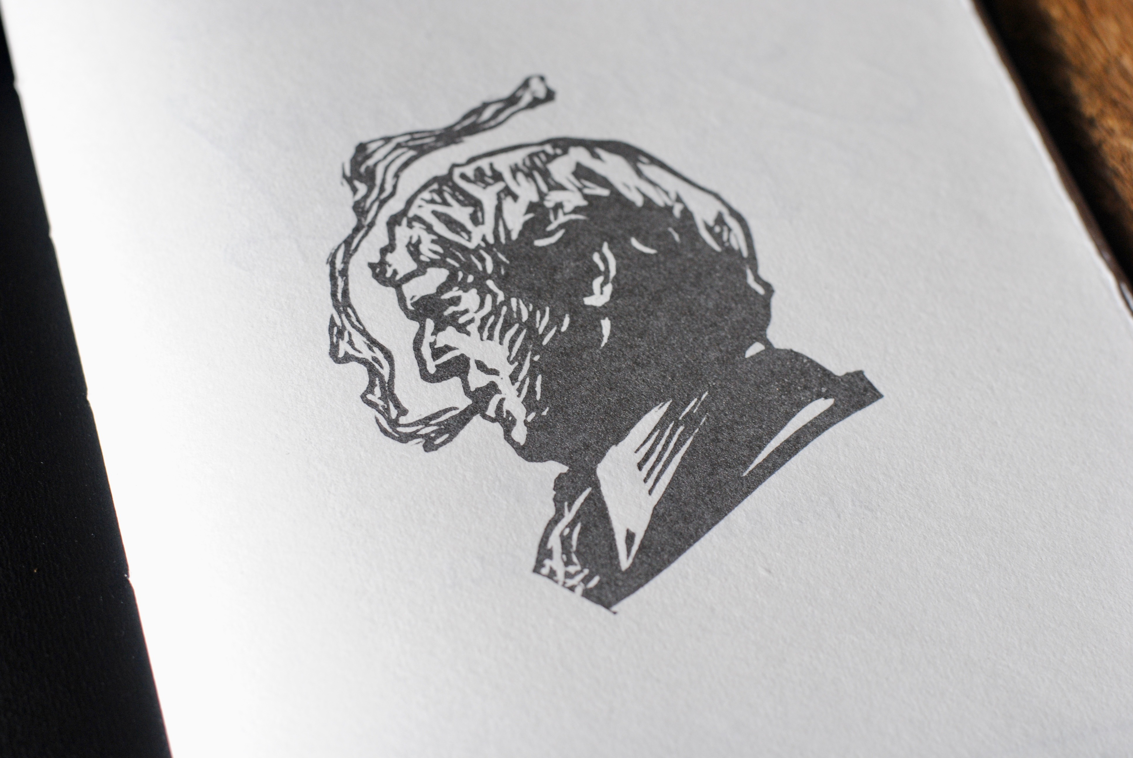 New Burgess Publications From Incline Press  The International  The Broadsheet Consisted Of An Extract From Burgesss Poem An Essay On  Censorship Printed From Metal Type And Accompanied By A Linocut Portrait  Of Anthony