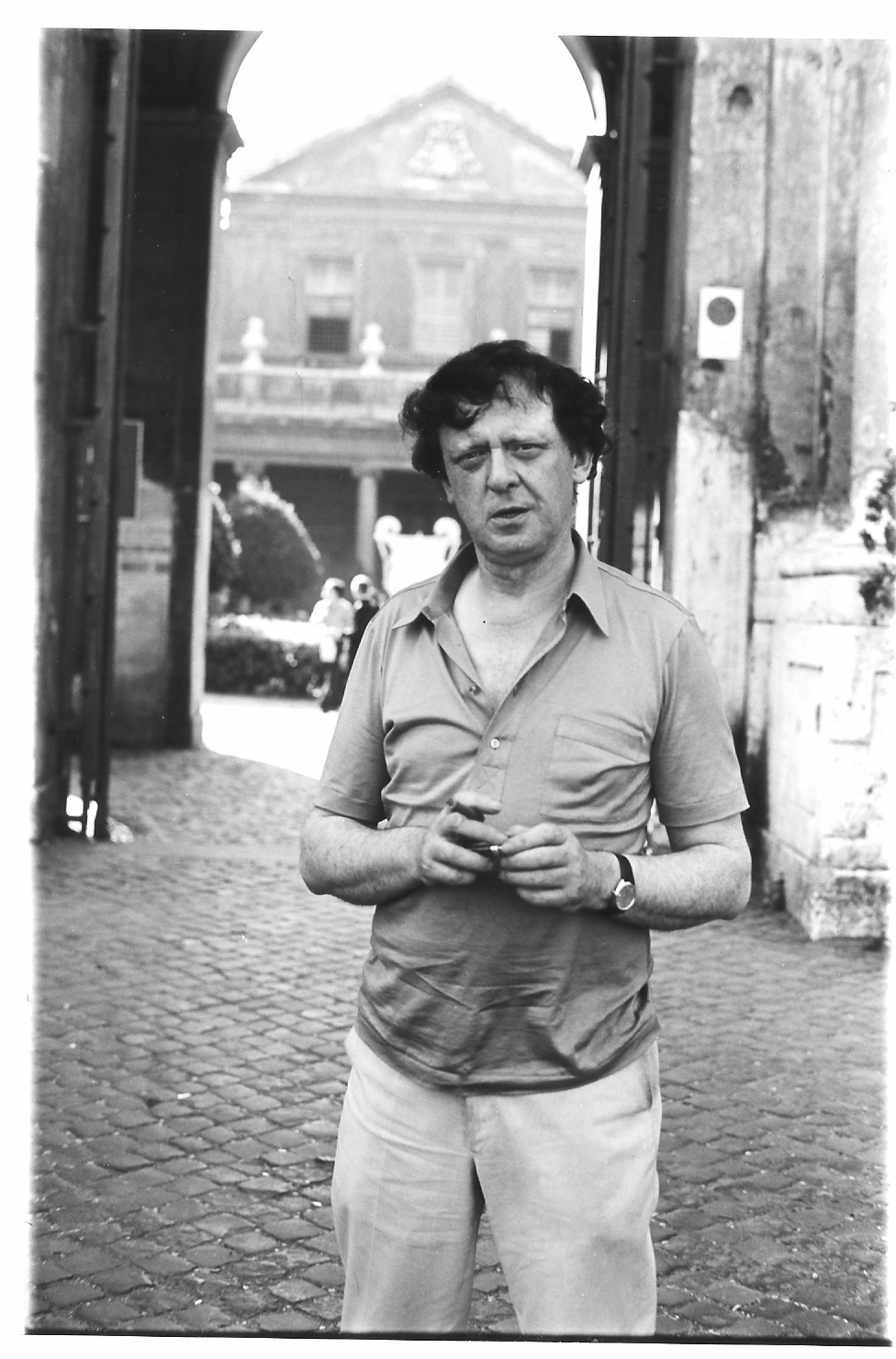 Anthony Burgess in the early 1970s