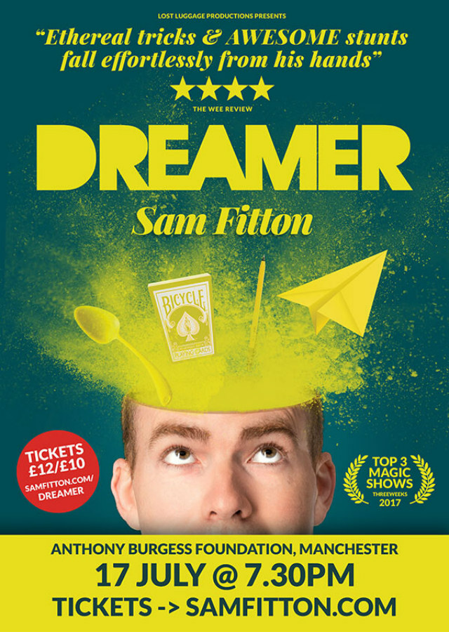 Sam Fitton - Dreamer poster