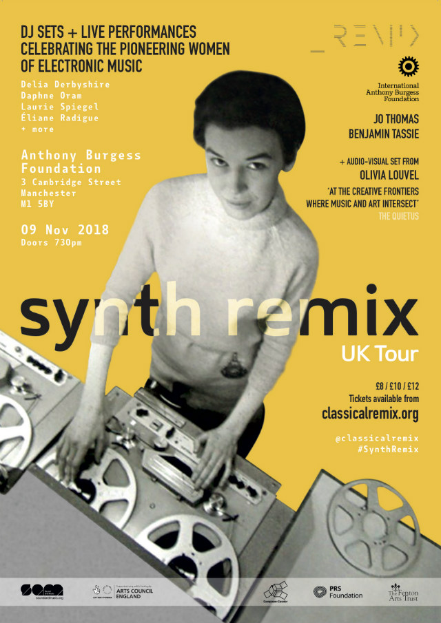 Synth Remix Manchester poster