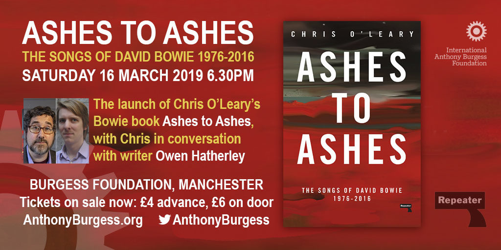 Talk: Ashes To Ashes - The Songs of David Bowie - The International