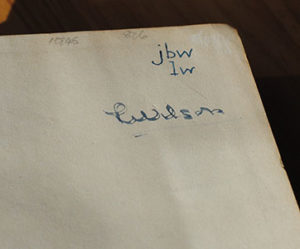 Faber Book of Modern Verse initials