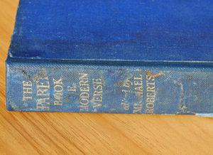 Faber Book of Modern Verse spine