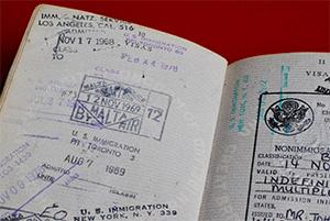 Anthony Burgess's passport