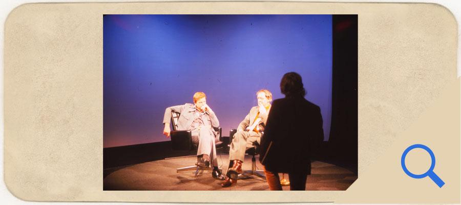 Anthony Burgess interviewed in Iowa City