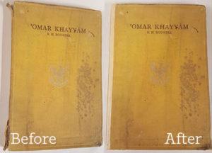 Omar Khayyam before and after