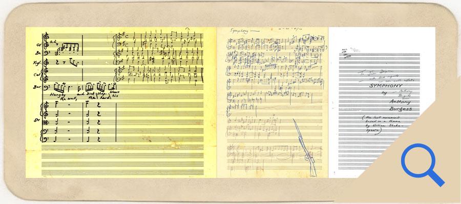 Symphony manuscript scans 1 2 and 3 link