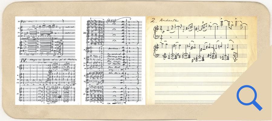 Symphony manuscript scans 4 5 and 6 link