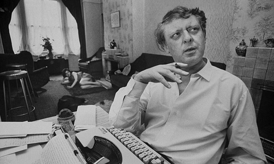 Anthony Burgess at his Chiswick house