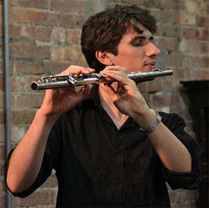 No Dice flautist