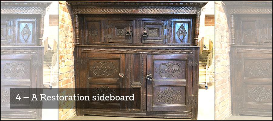 4) A Restoration sideboard