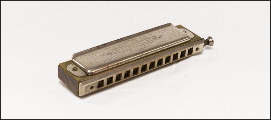 Anthony Burgess's harmonica