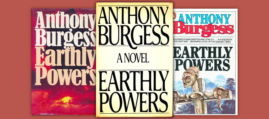Earthly Powers book covers