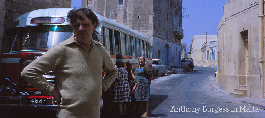 Anthony Burgess in Malta
