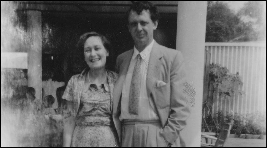 Lynne and Anthony Burgess in Malaya