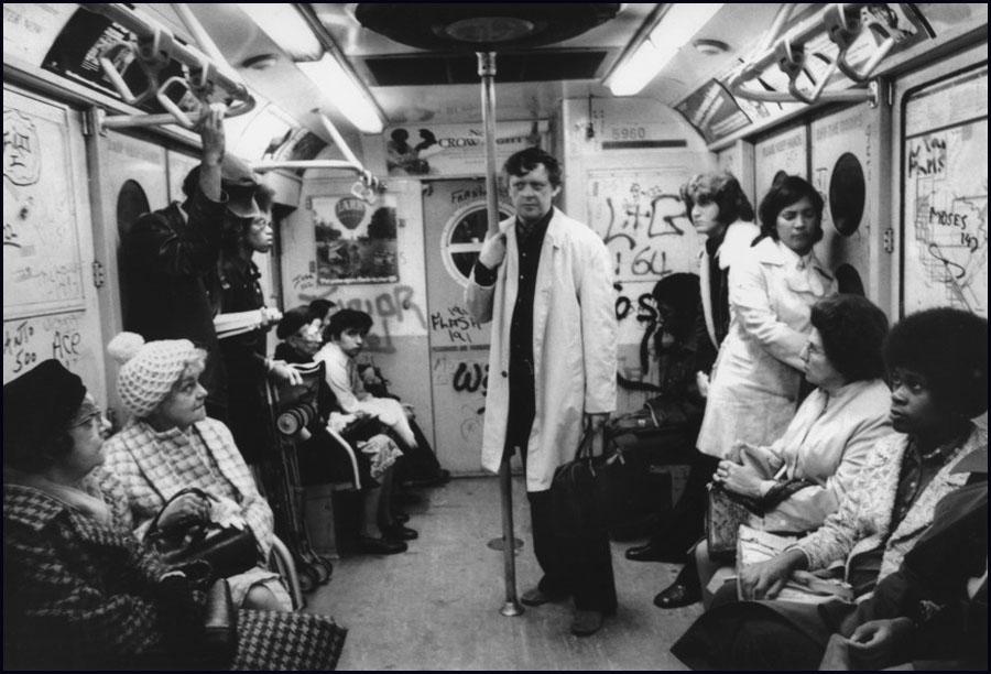 Anthony Burgess on the New York Subway