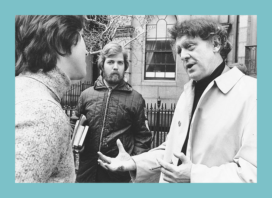 Anthony Burgess at City College New York 1973