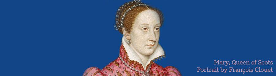 Mary, Queen of Scots. Portrait by François Clouet