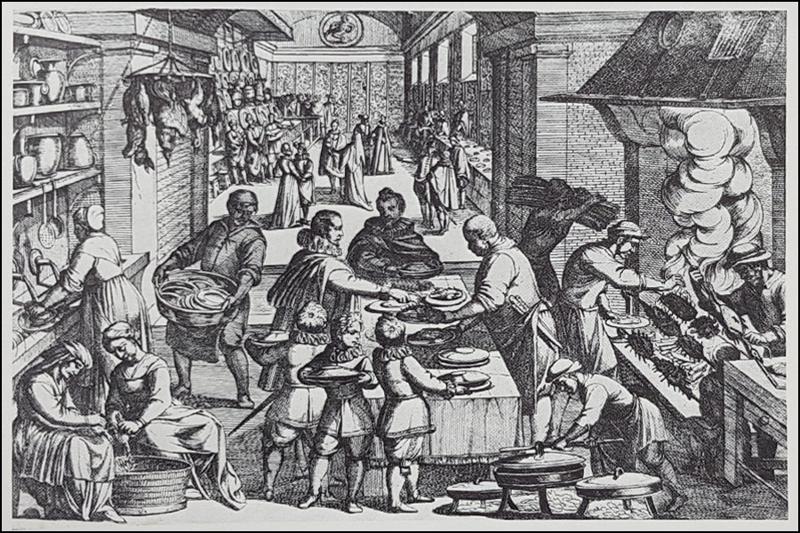 Shakespearean meal preparation