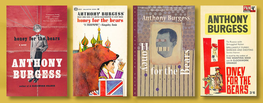 Honey for the Bears book covers