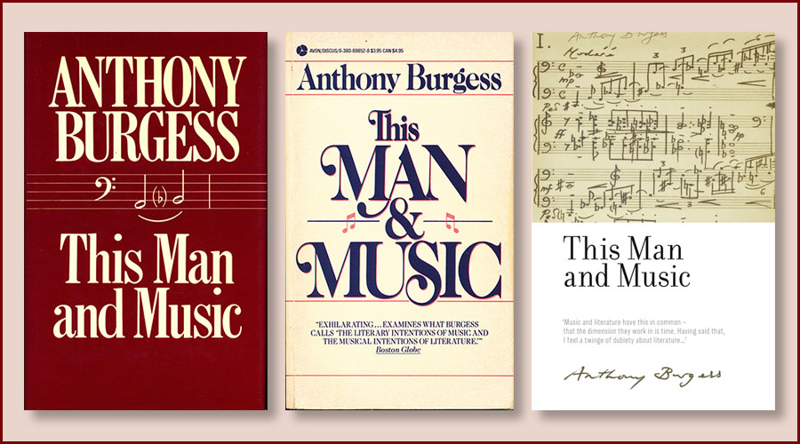 This Man and Music book covers