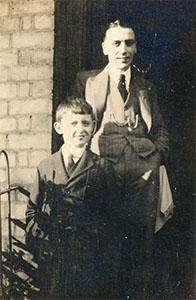 John Burgess Wilson and his Uncle Jack Tollitt