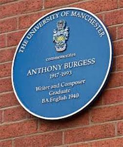 Anthony Burgess blue plaque