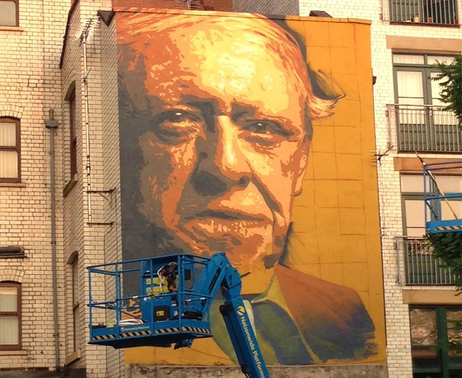 Creation of the Tib Street mural in 2016
