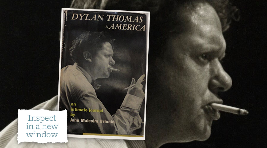 Dylan Thomas in America cover - inspect in a new window