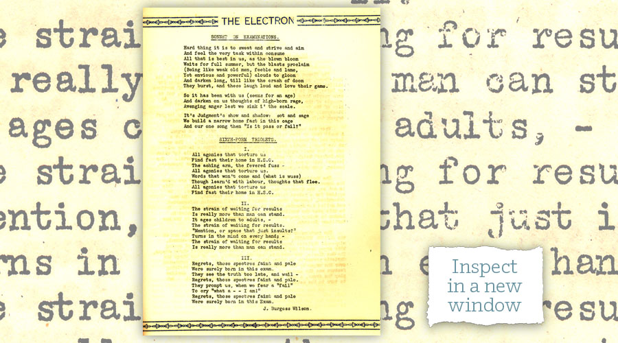 Electronic poems - inspect in a new window