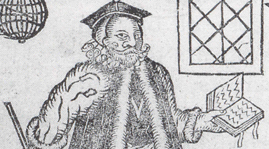 Frontispiece to a 1620 printing of Doctor Faustus