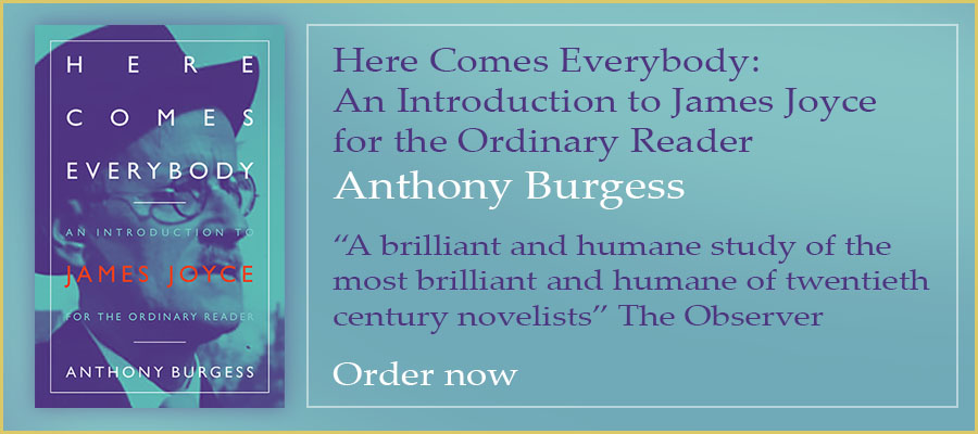 "Here Comes Everybody:An Introduction to James Joyce for the Ordinary Reader Anthony Burgess  ""A brilliant and humane study of the most brilliant and humane of twentieth century novelists"" The Observer  Order now"