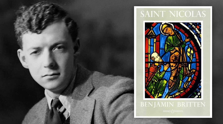 Benjamin Britten and Saint Nicolas book