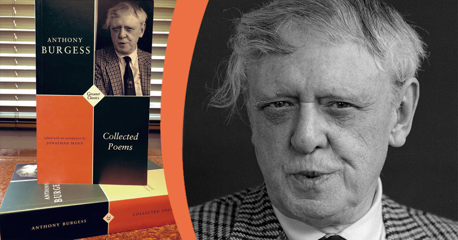Collected Poems book and Anthony Burgess