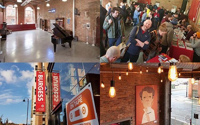Four venue pictures