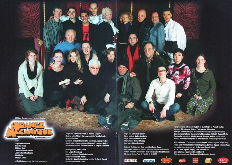 A Clockwork Orange in Paris (brochure)