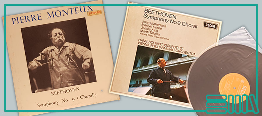 two recordings of Beethoven's 'Glorious Ninth',