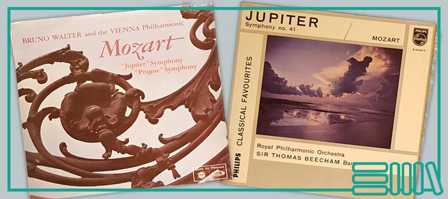 Mozart Jupiter symphony records
