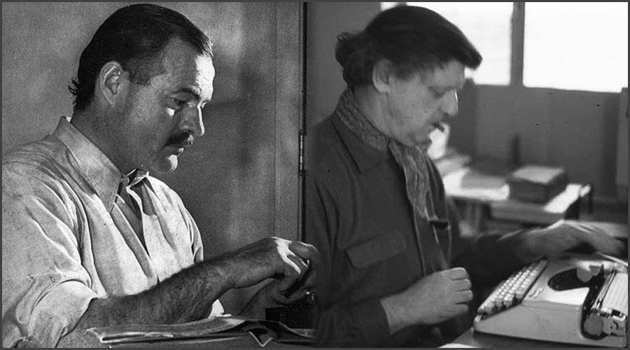 Ernest Hemingway and Anthony Burgess