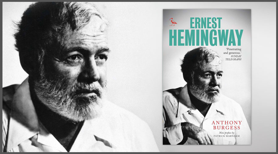 Ernest Hemingway by Anthony Burgess book cover