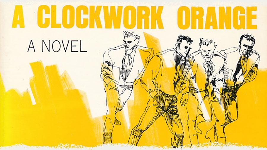 A Clockwork Orange novel cover design