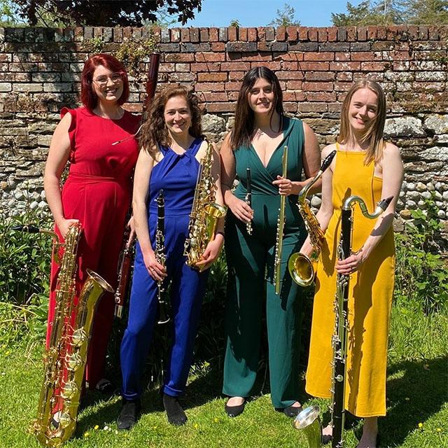 Chameleon Quartet photo