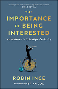 Robin Ince The Importance of Being Interested book cover